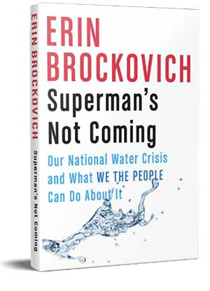 Book cover of Superman's Not Coming by Erin Brockovich
